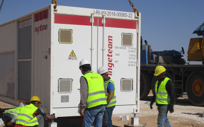 La planta solar más grande del mundo en un campo de refugiados emplea tecnología Ingeteam